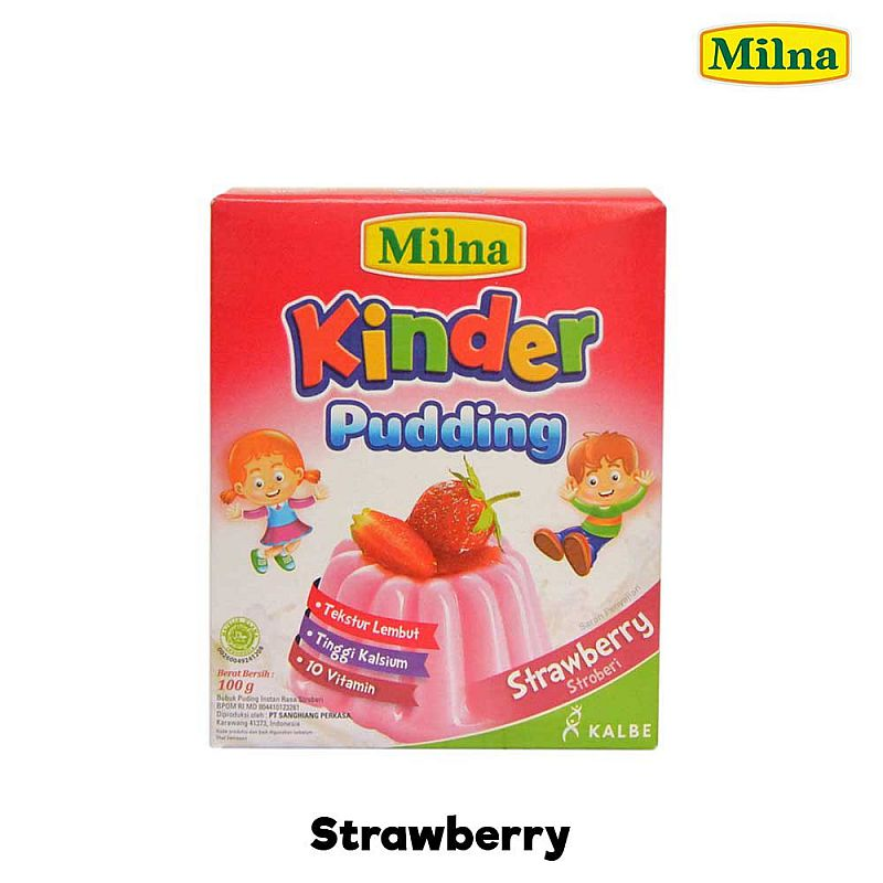 Milna Kinder Pudding Bayi Silky Puding Instant