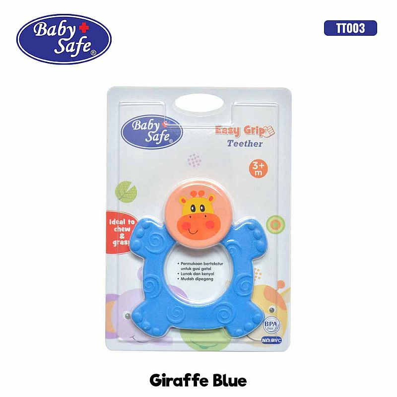 Baby Safe Easy Grib Rubber Teether Gigitan Bayi Karet TT003